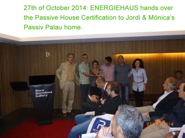 Passiv Palau Certification