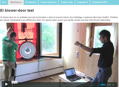 Video Blower Door Con Micheel Wassouf