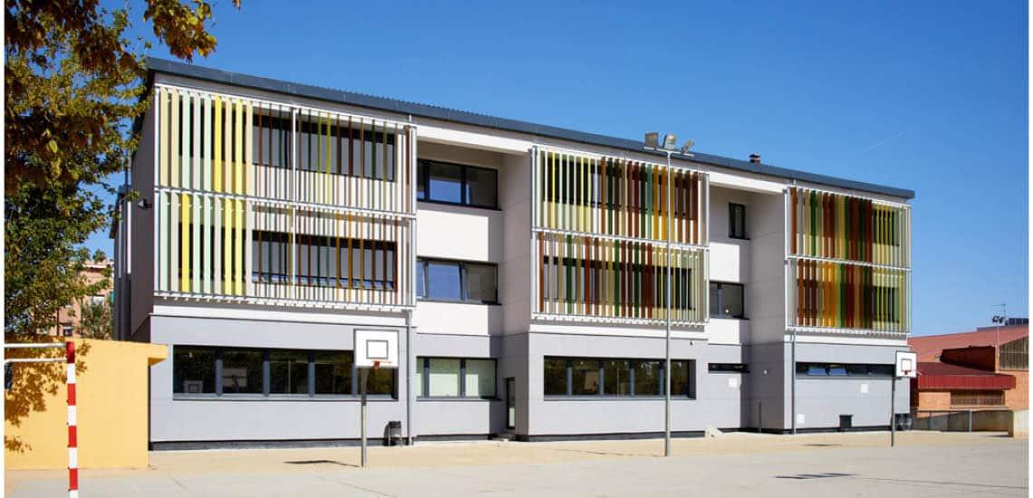 ENERGIEHAUS rehabilitación Passivhaus colegio el garrofer