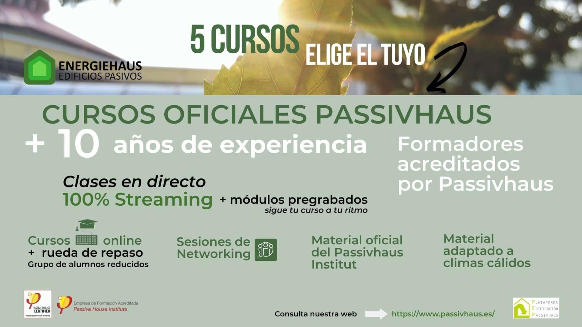 cursos passivhaus Energiehaus