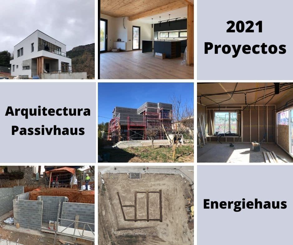 Proyectos Arquitectura Passivhaus