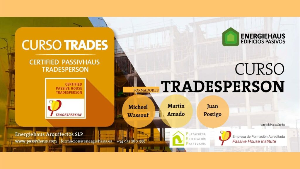 Curso Passivhaus Tradesperson